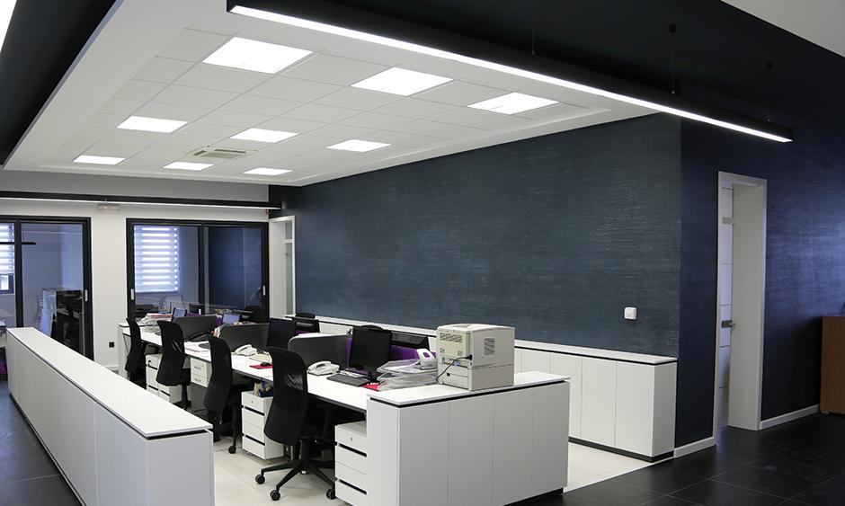 Bestil billige LED paneler hjem på nettet